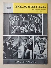 September 1960 - Phoenix Theatre Playbill - H.M.S. Pinafore - Eric House