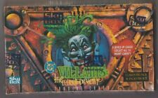 1995 DC Villains Dark Judgment Factory Sealed Card Set Box Extremely Rare Mint!