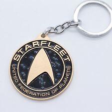 Keychain / Porte-clés - Star Fleet Star Trek Design Metal