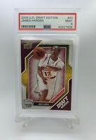 2009 Upper Deck Draft Edition #40 James Harden Rookie Card RC PSA 9 Mint