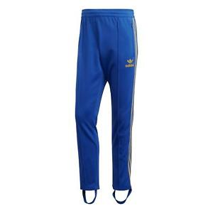 adidas ORIGINALS ADICOLOR 70S ARCHIVE TRACK PANTS MALMO SWEDEN BLUE YELLOW