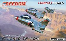 Freedom Models - Lockheed F-104 & TF-104 USAF Starfighter (2 kits in 1 box) # 16