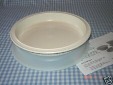 Tupperware~Vtg~ULTRA 21~QUICHE/PIE PAN SET~Casserole~Oven Ware/Microwave~Dessert