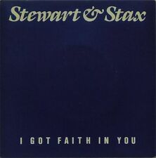 """STEWART & STAX 'I GOT FAITH IN YOU' UK PICTURE SLEEVE 7"""" SINGLE"""