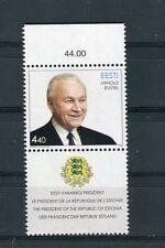 Estonia 2003 Francobollo 75 compleanno Presidente Arnold Ruutel MNH
