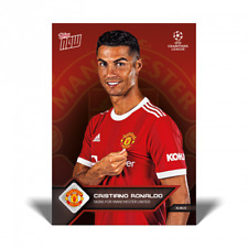 21 Topps Now #14 UCL Cristiano Ronaldo Manchester United - New Signing IN hand