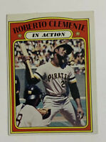 1972 Topps Roberto Clemente # 310 Baseball Card Pittsburgh Pirates In Action HOF