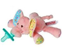 Elephant WubbaNub Pacifier Ella Bella Baby Toy Binkie by Mary Meyer