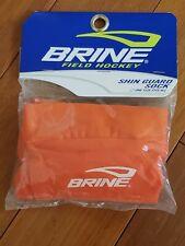 Brine Field Hockey Shin Guard Socks / Sleeves - Pair - Orange - FSSLYC8-OR