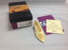 Just The Right Shoe Mount Vernon Collection First Lady Slipper #25411 ~ In Box!