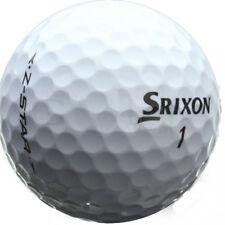 50 PREMIUM SRIXON Z STAR GOLF BALLS AAA/STANDARD GRADE *FREE TEES*