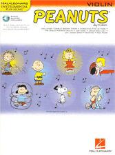 Peanuts Play-Along Violin Violine Geige Noten Download Code