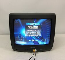 "Vintage Orion 13"" CRT CCD Tube Box TV Television Portable TV1334A"
