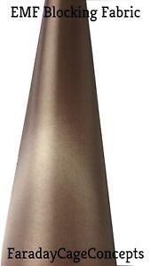 "EMF RFID RF Copper Conductive Fabric Roll - 42"" x 20' (feet) of Material"