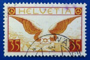 Suisse oblitéré, poste aérienne n°13, 1937