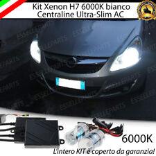 KIT XENON XENO H7 AC 6000K 35W SPECIFICO PER OPEL CORSA D NO ERROR  CON GARANZIA