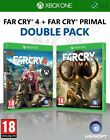 Far Cry 4 + Far Cry Primal Double Pack Xbox One * NEW SEALED PAL *