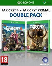 Far Cry 4 + FAR CRY Primal Doble Pack Xbox * Nuevo Precintado PAL * One
