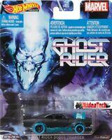 2020 Hot Wheels Retro Ghost Rider Dodge Charger 1/64 Diecast Car DMC55-956Q