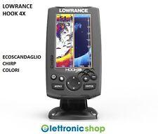 LOWRANCE HOOK 4X - ECOSCANDAGLIO CHIRP COLORI + TRASD. 83/200 & 455/800Khz