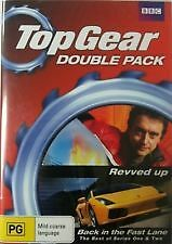 TOP GEAR DOUBLE PACK - REVVED UP + BACK IN THE FAST LANE - BRAND NEW SEALED DVD