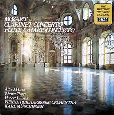 SPA 495 Mozart Clarinet Flute & Harp Concertos Munchinger NM/EX Decca Stereo