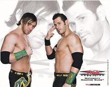 WWE TNA Wrestling Motorcity Machine Guns 8x10 promo photo