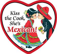 Tile Magnet: Mexican Cook