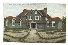 *(F) 1907 Jamestown Exposition Pc Hospital Building