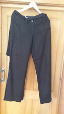 Ladies NEXT WITH LOVE trousers size 8R Black