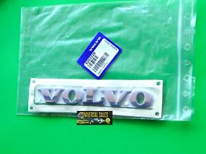 VOLVO EMBLEM BADGE DECK LID TRUNK REAR 1999-2008 LOGO NAMEPLATE OEM NEW