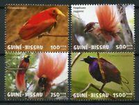 Guinea-Bissau Birds on Stamps 2020 MNH Greater Bird of Paradise 4v Set