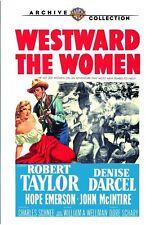 Westward the Women 1951 (DVD) Robert Taylor, Denise Darcel, Hope Emerson - New!