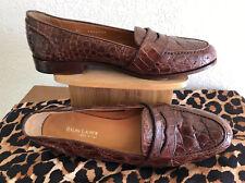 Ralph Lauren-Genuine Alligator/Crocodile Skin Shoes 8 M Italy Womens Classic