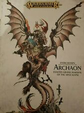 Warhammer aos Everchosen ARCHAON exalted  grand marshal  rrp£100