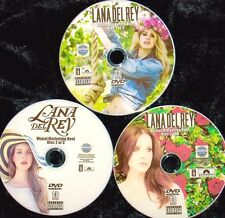 LANA DEL REY Visual Reel 3 DVD Set with 57 Music Videos 2010-2017 Lust For Life