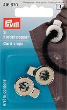 Prym Kordelstopper 1-Loch silberfarbig 2 St  416670