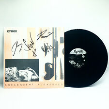"""Clan of Xymox - Subsequent Pleasures AUTOGRAPHED SIGNED 12"""" Vinyl EP 30th Anniv."""