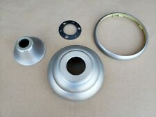 Hampton Bay Ceiling Fan replacement parts - grey canopy, cone, and plastic ring