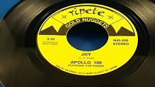 APOLLO 100 - Joy / DEE CLARK - Shook Up Over You - NEAR MINT  2 Hits!