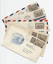 1928-1932, Canada FFC Lot of 5 All Different Quebec, NWT, Alberta, Ontario*
