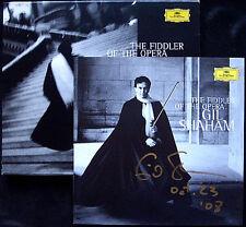 Gil SHAHAM Signed FIDDLER OF THE OPERA Bizet Gershwin Gluck Mozart Rossini CD
