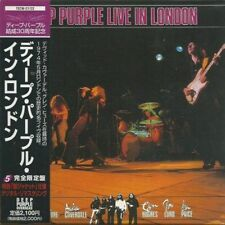 DEEP PURPLE - LIVE IN LONDON 1998 JAPAN MINI LP CD 1st ISSUE - FREE Shipping !