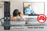 KONKA Universal Smart TV Remote Control No Programming Needed - Aussie Outlet
