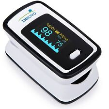 NEW Innovo Deluxe Pulse Oximeter iP900AP Finger SpO2 Perfusion Index FREE SHIP