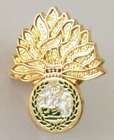 Flame Tree French Pin Badge Rare Vintage (H10)