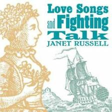 Janet Russell : Love Songs and Fighting Talk CD (2008) ***NEW***