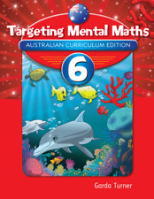 Targeting Mental Maths Year 6 NEW by Pascal Press (Garda Turner) 9781742152110