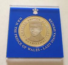 1981 Charles Diana Royal Wedding Proof Medal Coin