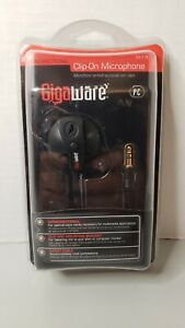 NIB Gigaware Clip-On Microphone Work From Home Accessory